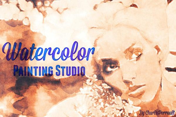 Watercolor Painting Studio