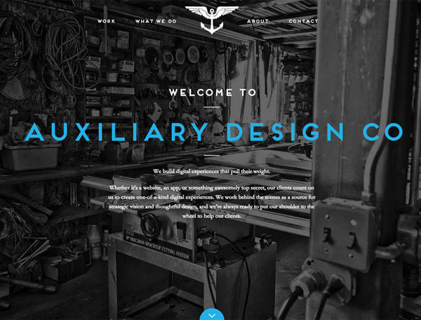 One Page Websites - 30 Inspiring Examples - 16