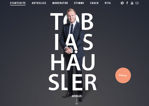 One Page Websites - 30 Inspiring Examples - 17