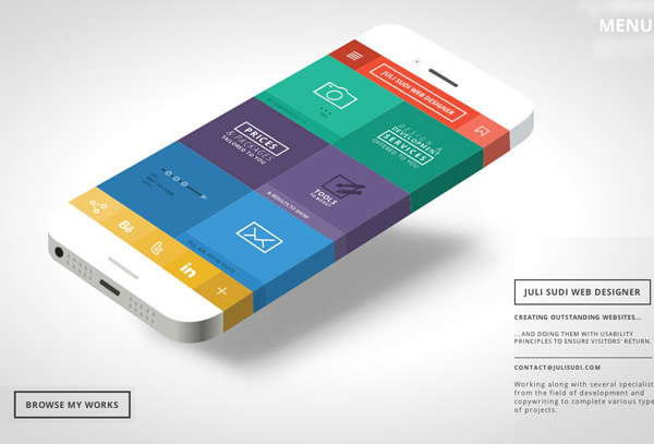 One Page Websites - 30 Inspiring Examples - 2
