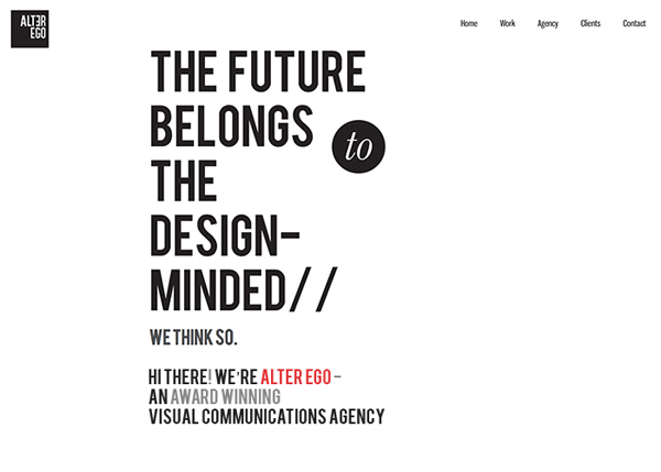 One Page Websites - 30 Inspiring Examples - 26