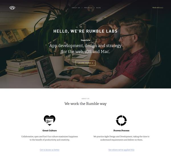 Flat Design Websites for Inspiration - 3