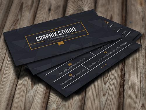 Poly Creative Business Card