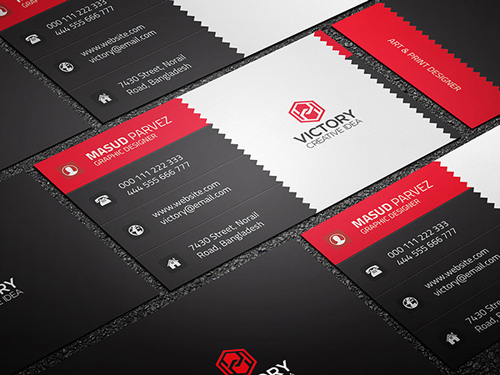 Nerow & Corporate Business Card