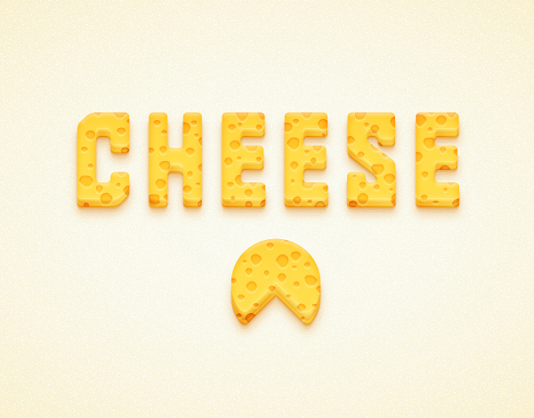 Create a Detailed Cheese Text Effect in Adobe Illustrator