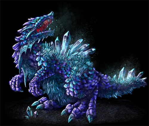 Create a Crystal Beast Concept Art Work in Adobe Photoshop