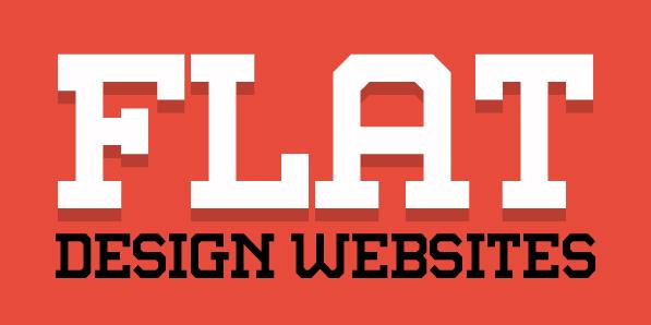 Flat Websites Design – 27 New Examples