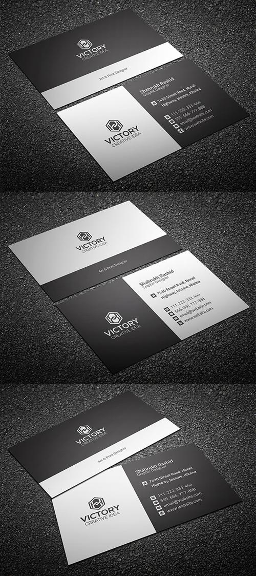Freebie: Corporate Business Card (Print Ready)