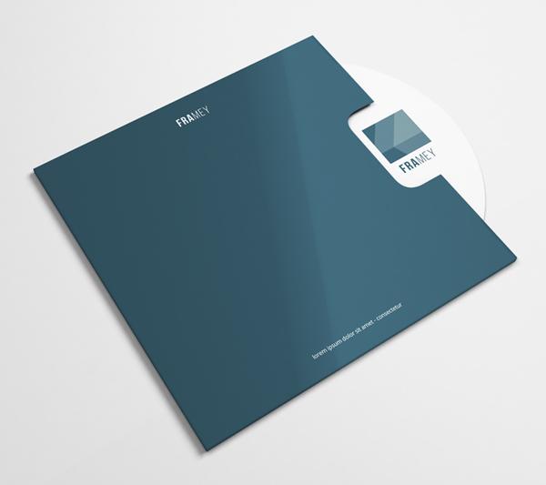 Free CD Cover Mockup