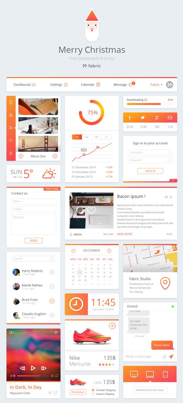 Free Dashboard UI Kit
