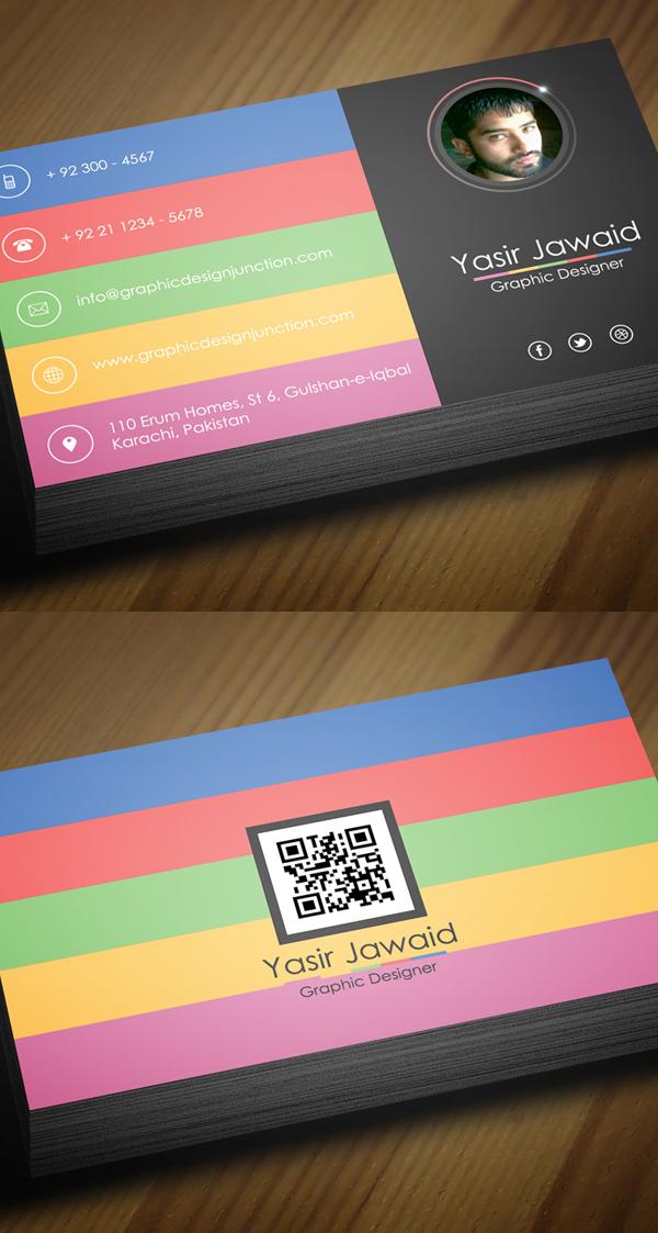 Free Modern Business Card Template