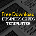 Post Thumbnail of 25 Free Business Cards PSD Templates - Print Ready Design