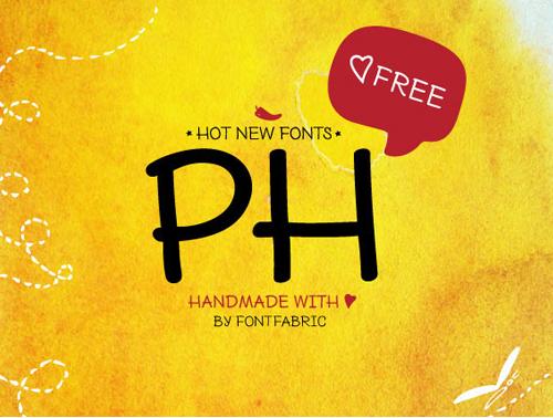 PH Free Font