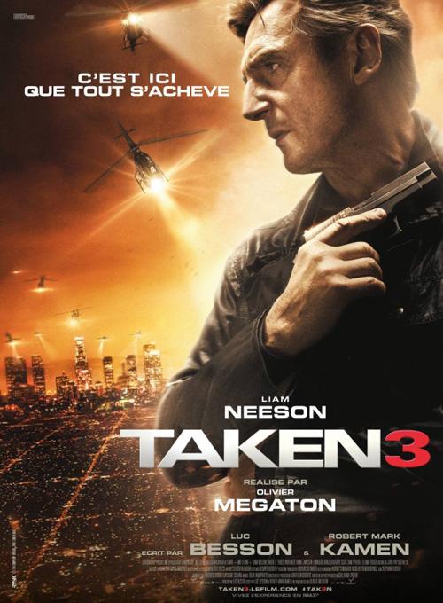 Tak3n Movie Poster