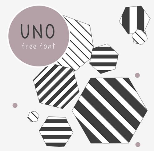 UNO Free Font