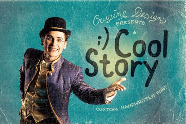 Cool Story Custom Font