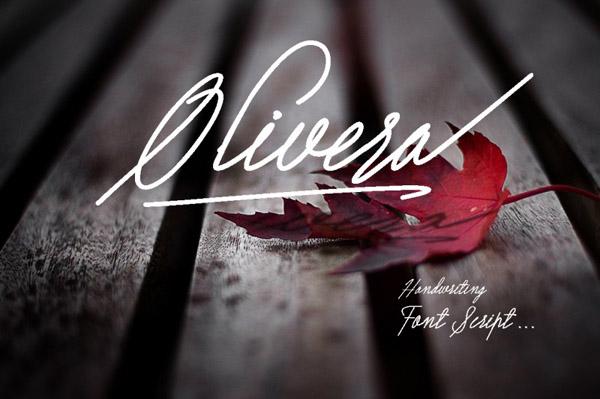 Olivera script font