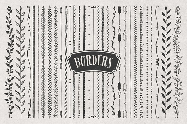 Borders, Corners & Frames Super Kit