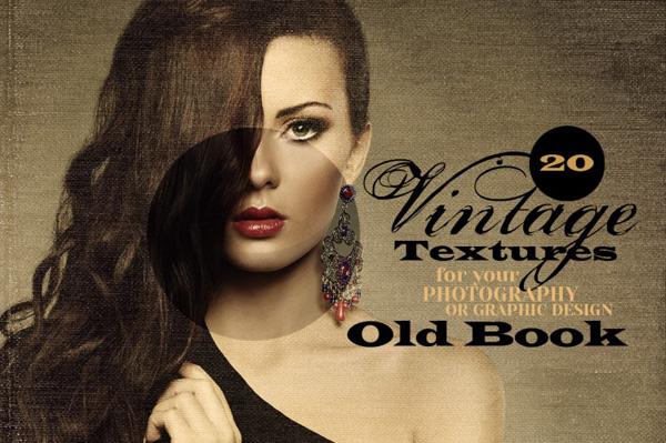 20 Vintage Textures & Effexts