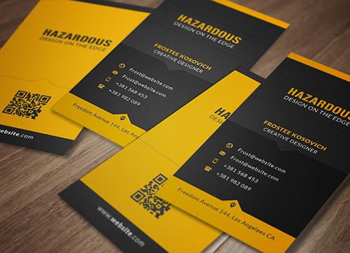 Hazardous Business Card