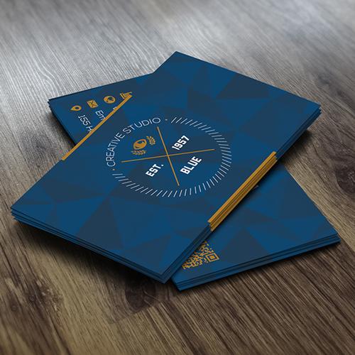 Crystal Blue Creative Business Card