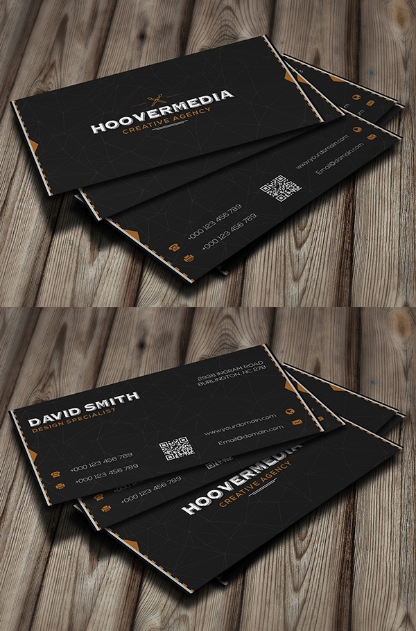 Hoover Creative Business Card