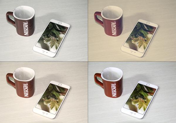 Iphone 6 Plus Mockup PSD Template