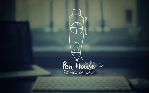 Pen House Identity by Manuel Rosero