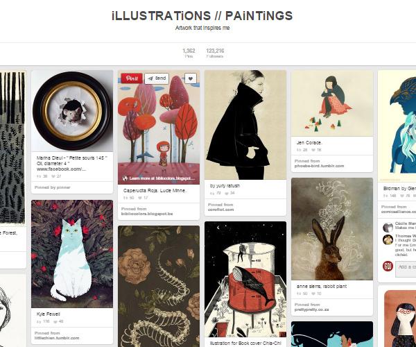 26 Top Digital Art & Illustrations Boards To Follow on Pinterest - 1