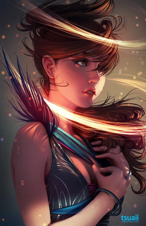 Digital Art by Jonathan Hamilton