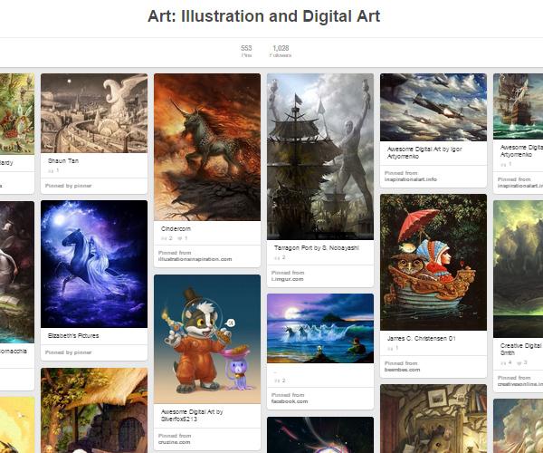 26 Top Digital Art & Illustrations Boards To Follow on Pinterest - 12