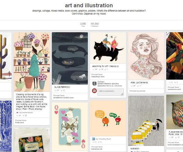 26 Top Digital Art & Illustrations Boards To Follow on Pinterest - 16