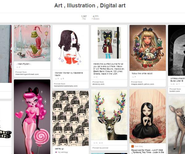 26 Top Digital Art & Illustrations Boards To Follow on Pinterest - 19