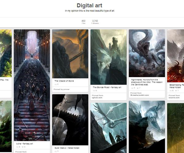 26 Top Digital Art & Illustrations Boards To Follow on Pinterest - 21