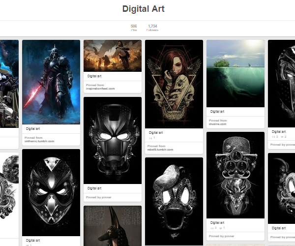 26 Top Digital Art & Illustrations Boards To Follow on Pinterest - 25
