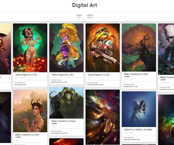 26 Top Digital Art & Illustrations Boards To Follow on Pinterest - 6