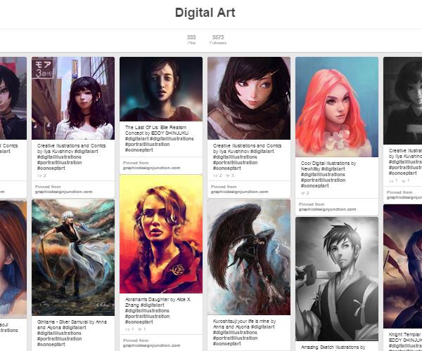 26 Top Digital Art & Illustrations Boards To Follow on Pinterest - 8