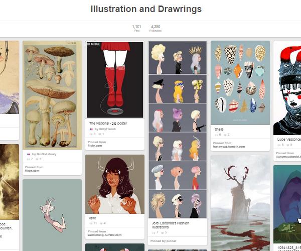 26 Top Digital Art & Illustrations Boards To Follow on Pinterest - 9