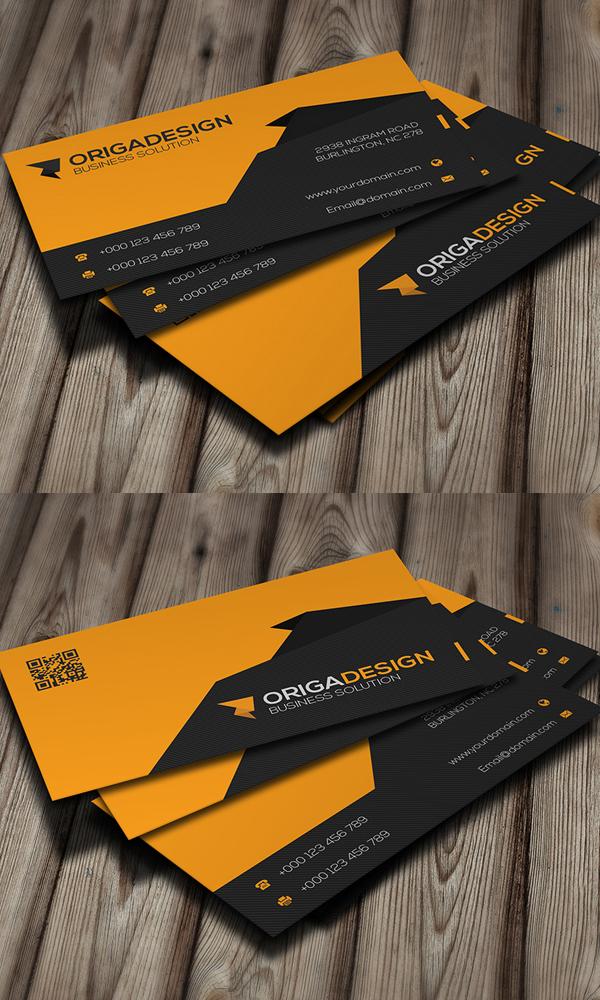 Origa Corporate Business Card