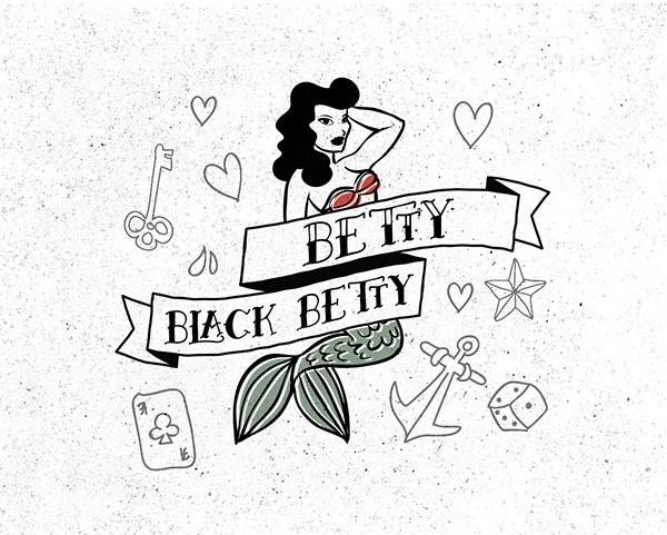 Betty Free Font