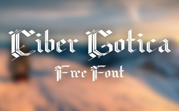 CiberGotica Free Font