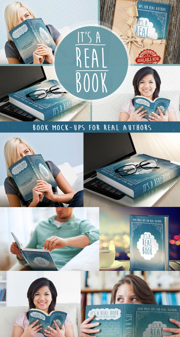 Free Photoshop Book MockUps