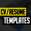 Post Thumbnail of 18 Free Modern CV / Resume Templates & PSD Mockups