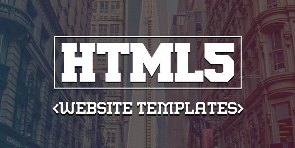 15 Responsive HTML5 CSS3 Website Templates