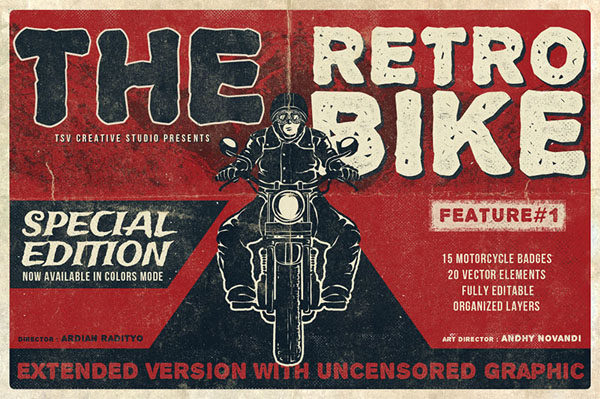 The Retro Bike + 20 Bonus