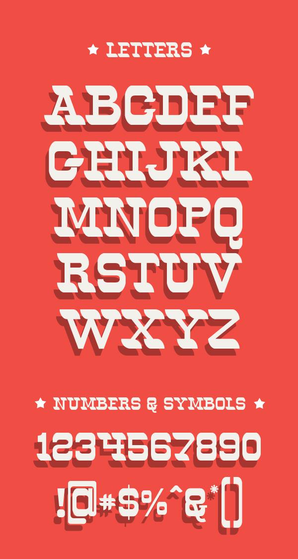 Oldways Font Letters