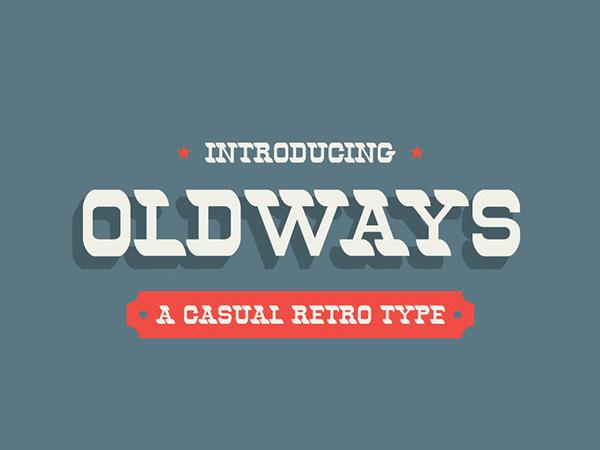 Oldways Free Font