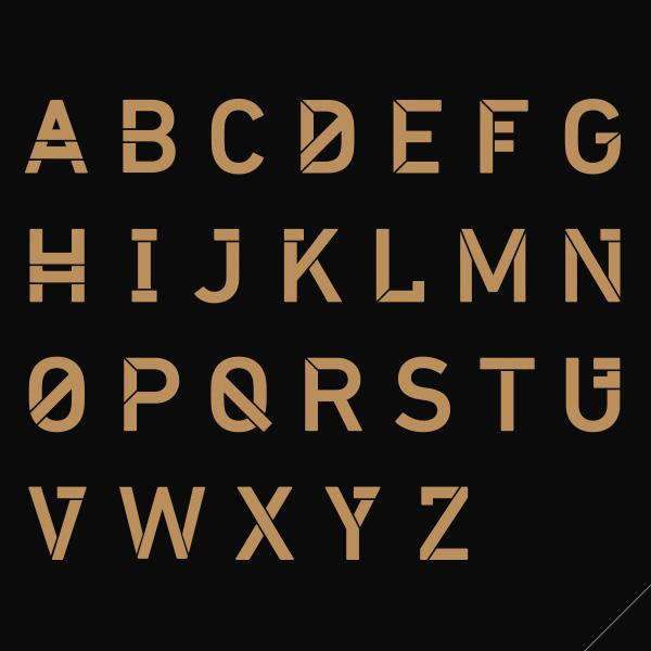 HIJKU Font Letters