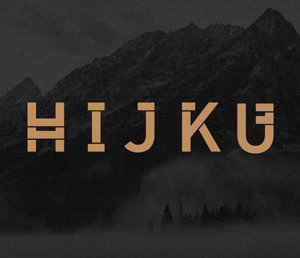 HIJKU Free Font