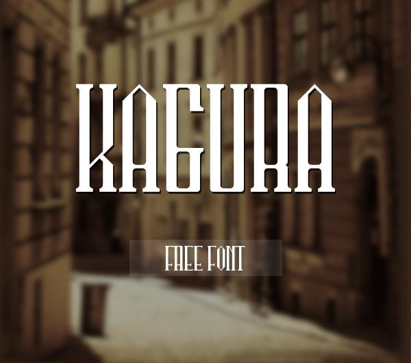 Kagura Free Font